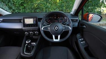 Renault Clio Long termer - interior
