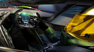 Lamborghini Lambo V12 Gran Turismo - driver inside