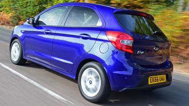 Ford Ka+ - rear tracking