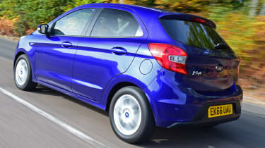 Ford Ka+ - rear tracking