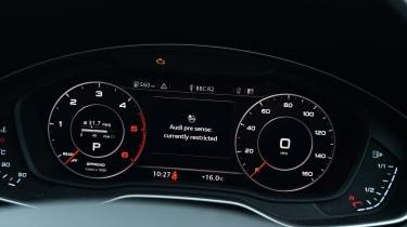 Audi Virtual Cockpit - dials