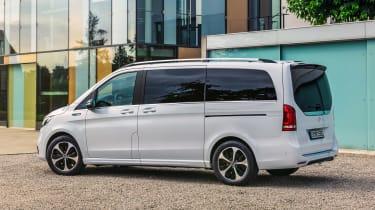 Mercedes EQV - rear static
