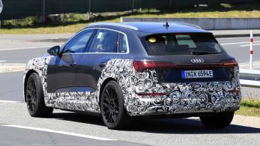 Audi e-tron S - spyshot 13