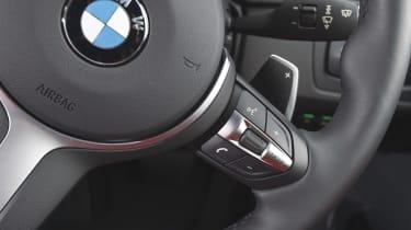 BMW iDRIVE - steering wheel controls