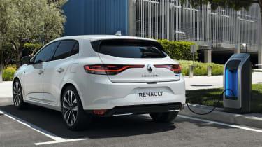 Renault Megane PHEV - rear
