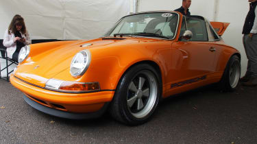 Porsche 911 - Goodwood front