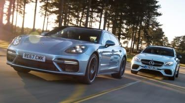 Porsche Panamera vs Mercedes-AMG E 63 S header