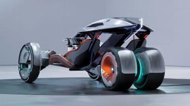 SAIC Design R RYZR concept - rear