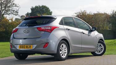 Used Hyundai i30 - rear