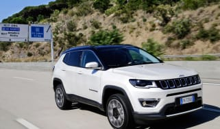 2017 Jeep Compass - parked front quarter