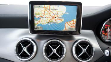 Mercedes CLA 180 interior detail