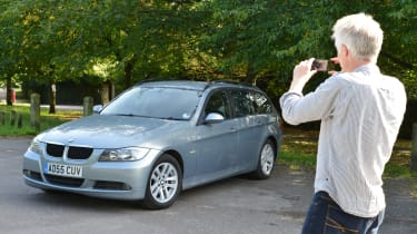 How to photograph your car for sale - park