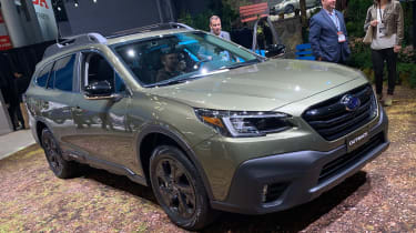 Subaru Forester Outback - New York motorshow