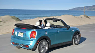MINI Convertible Automatic - rear three quarter
