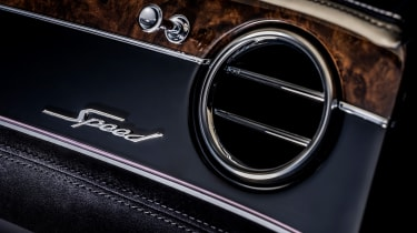 Bentley Continental GT Speed convertible - air vent