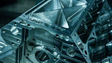 New Ginetta supercar engine block