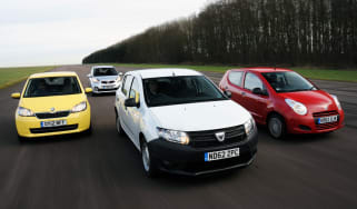 Dacia Sandero vs rivals