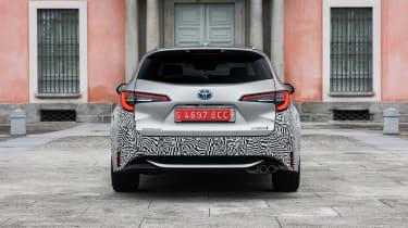 Toyota Corolla Touring Sports prototype - full rear static