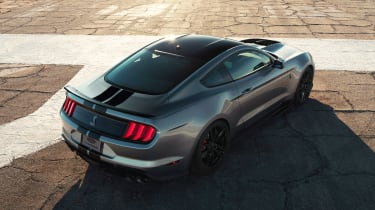 Ford Mustang Shelby GT500 - rear without wing