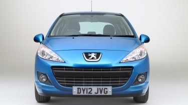 Peugeot 207 front tracking