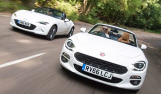 Fiat 124 Spider vs Mazda MX-5 - header