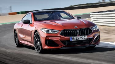 BMW 8 Series - track front