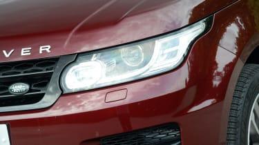 Range Rover Sport - front lights