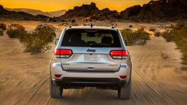 Jeep Grand Cherokee Trailhawk - rear
