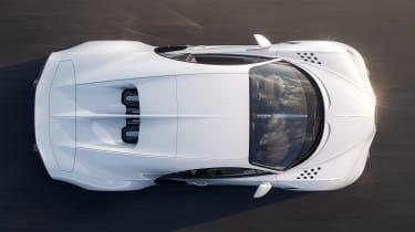 Bugatti Chiron Super Sport - above