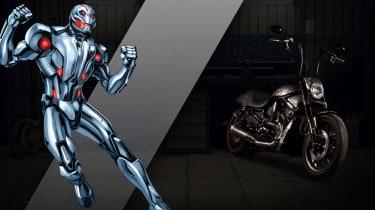 Harley Davidson Marvel Super Hero Customs - Ultron Intelligence