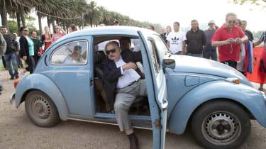 Former President of Uruguay's car