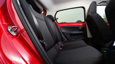 Skoda Citigo - rear seats