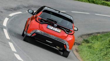 2020 Toyota Yaris - rear cornering