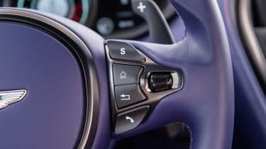 Aston Martin DB11 V8 - steering wheel detail