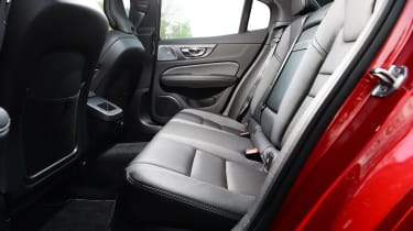 Volvo S60 - rear seats