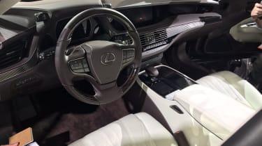 Lexus LS official 2017 - Detroit interior