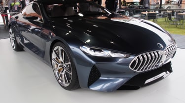 BMW 8 Series Concept - Goodwood front