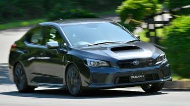 Subaru WRX STI - front action