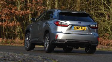 Lexus RX 450h - rear cornering