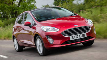 Ford Fiesta - front red