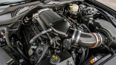 Hennessey Ford Mustang HP800 - engine