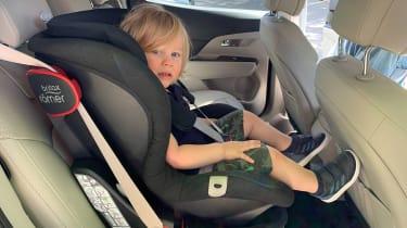 SsangYong Korando long termer - second report car seat