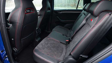 skoda kodiaq vrs rear seats legroom