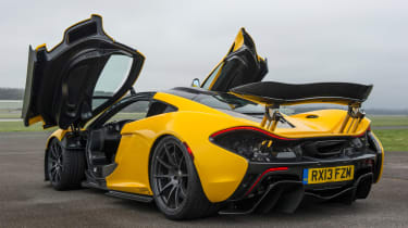 The P1's straight-line acceleration is mind-warping.
