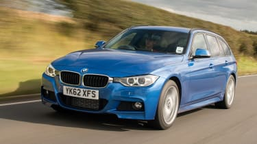BMW 328i Touring front tracking
