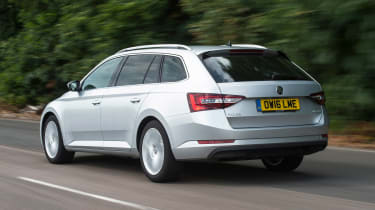 Skoda Superb Estate - rear
