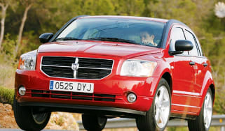 Front view of Dodge Caliber SXT Sport