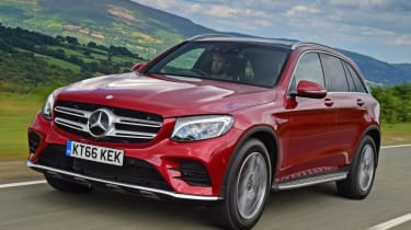 Used Mercedes GLC - front action