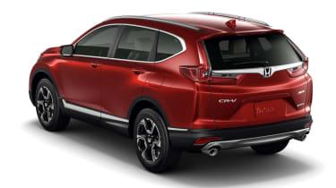 New Honda CR-V - rear three quarter