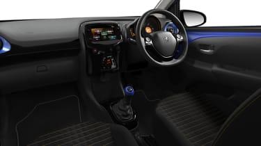Peugeot 108 update interior
